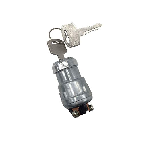 Universal Ignition Switch 3 Wire Engine Starter Switch for Car Tractor Forklift Motorcycle Truck