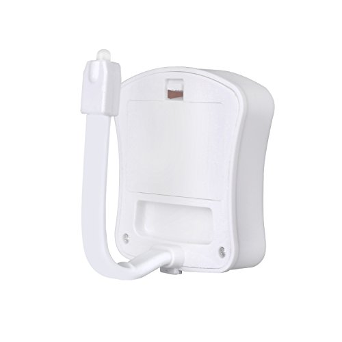 Sensitive LED Toilet Nightlight, KinHom B8 Magic Battery Powered Bowl  Bathroom Seat Safety Night