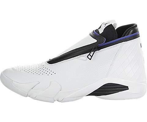 Jordan Nike Men's Jumpman Z White/Dark Concord/Black Basketball Shoe 11.5 Men US (Jordan Shoes Latest)