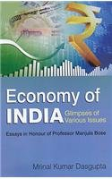 Economy of India: Glimpses of Various Issues PDF