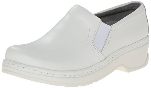 Klogs Unisex Naples White Smooth Shoes - 7.5 B(M) US