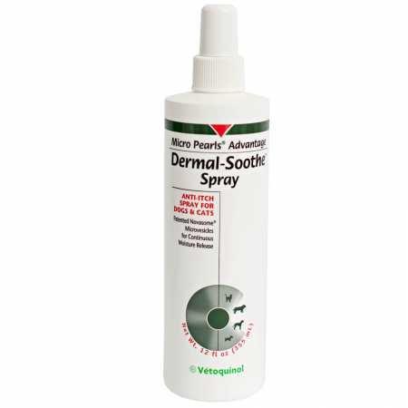 Dermal-Soothe Anti-Itch Spray 12 oz by Vetoquinol
