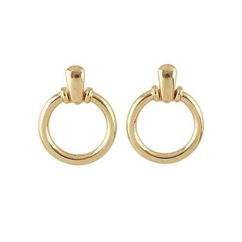 MJW&EH Femme Boucles d'oreille goutte , simple Basique Alliage Forme de Cercle Bijoux Quotidien Rendez-vous , one size