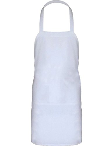 Cotton Kitchen Apron, Machine Washable ,Men's And Woman's Standard Apron with Pockets