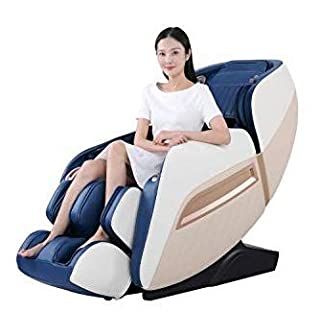 31qrd CT1XL. SS320 Future Massager Full Body 3D 3D Luxury Zero-gravity Massage Chair Junior Roboking Plus with Bluetooth speaker & Charging slot (Blue) with One year warranty