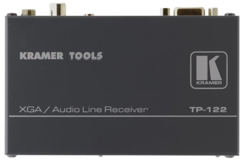 Over Receiver Pair Video Twisted (Kramer TP-122N Computer Graphics Video & Stereo Audio over Twisted Pair Receiver)