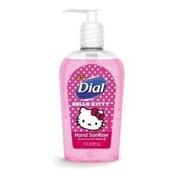 Dial - Hello Kitty Moisturizing Hand Sanitizer - 7.5 fl. oz. Bottle