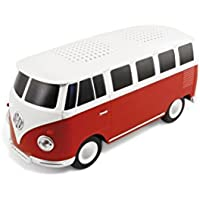 VW Collection by BRISA VW Bus T1 Bluetooth Speaker Red/White