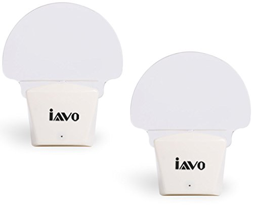 [Pack of 2] Iavo Super Energy Saving 0.3W LED Night