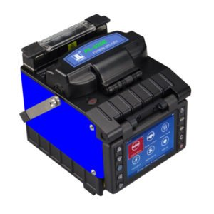 JILONG KL-520E FTTH Optical Fiber Fusion Splicer Kit w/ Fiber Optic Cleaver can Splice 250?m fiber, 900?m fiber, flat cable, and fiber jumper