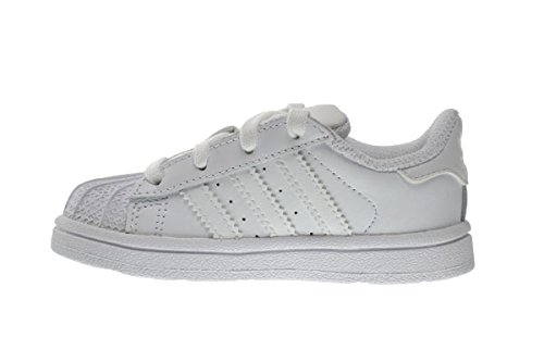 Adidas Superstar Foundation I Baby Toddlers Shoes Running White Ftw b23663 8.5 M US