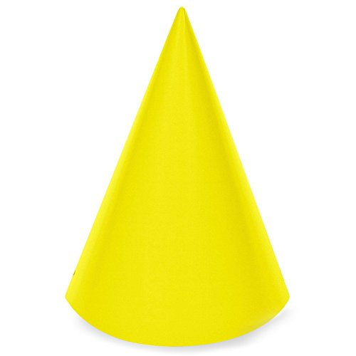 yellow cone hat - 1