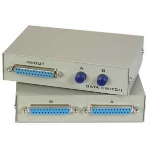 Db25 Manual Switch Box (InstallerParts DB25 2Way Manual Switch Box – Female Connectors – 2Way AB Manual Switch)