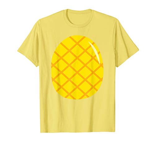 Pineapple Costume T-Shirt - Easy Cheap Last Minute -