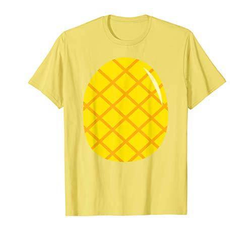 Pineapple Costume T-Shirt - Easy Cheap Last Minute Halloween