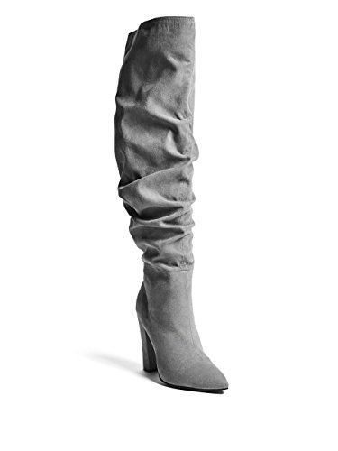 G by GUESS Women's Jaclyn Over-The-Knee - Grey Guess Boots