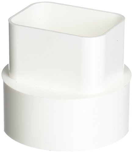 Genova Products S45234 Styrene Downspout Adapter, 2