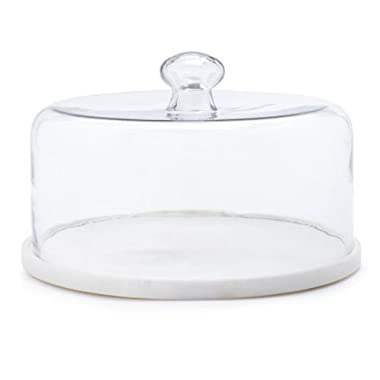 Sur La Table Marble and Glass Cloche STW-3308