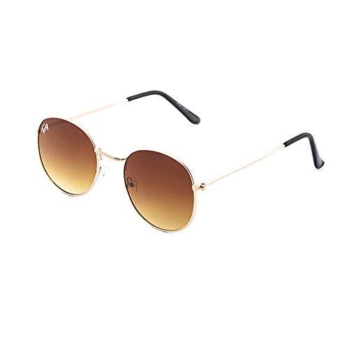 Bronce Gafas TWIG de DELACROIX hombre sol Degradado redondo mujer Marron 117Rq0