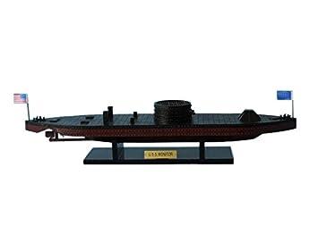 USS Monitor 21 - Handcrafted Model Ship - Wooden Civil War