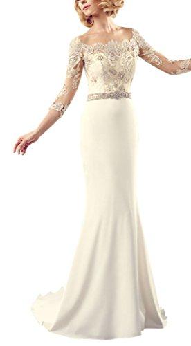 Pizzo rilievo GEORGE da Linee cinghie BRIDE Avorio in sposa abiti perfette zwXfwBqx6