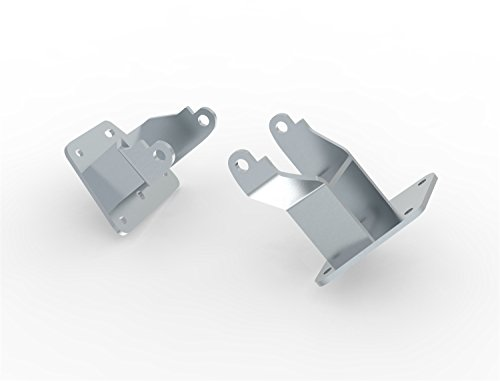 Hooker 71221001HKR Engine Mount Brackets For Use w/LS Swap Into 1993-02 GM F-Body Originally Equipped w/3.4L Or 3.8L V6 Incl. Bracket-To-Frame Hardware Engine Mount Brackets