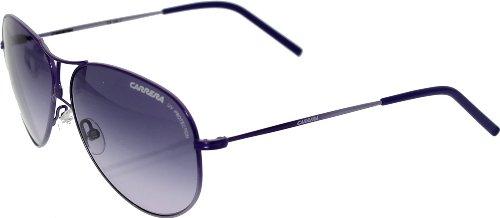 Carrera 848 TB Purple Carrera 4 Aviator Sunglasses Size - Purple Sunglasses Carrera