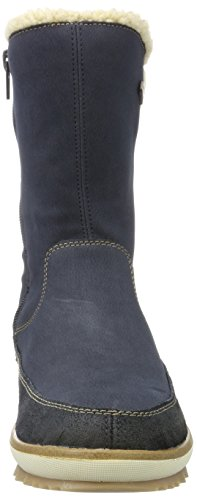 Remonte Women's R4374 Snow Boots, Asche/Stromboli/Beige/45, 5 UK Blue (Pilot/Pazifik/Beige 14)