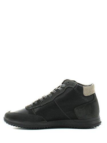 IGI&Co - Zapatos de cordones de Piel para hombre Negro negro negro