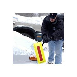Sno Brum Pro Edge Snow Rake Professional Grade Removal Tool