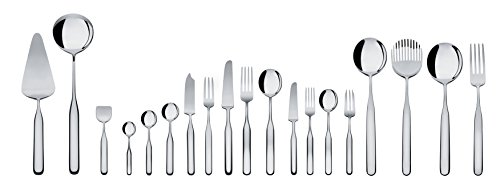 Alessi ''Collo-alto'' Table Knives in Steel Aisi 420 Mirror Polished (Set of 6), Silver by Alessi (Image #2)