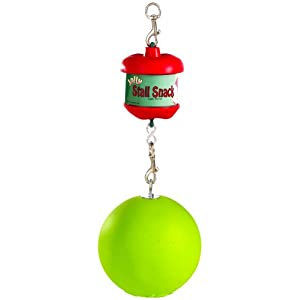 Horsemen's Pride Stall Snack Holder with Apple-Scented Jolly Ball for Horses 25
