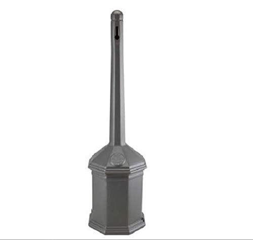 Commercial Business Site Saver Cigarette Receptacle Smokers Pole Ash Tray