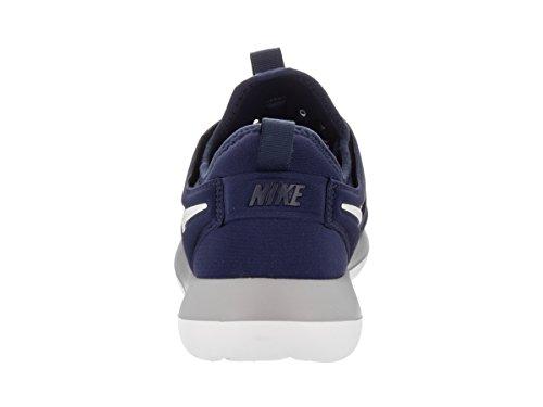 Nike Mens Roshe Due Scarpe Da Corsa Binario Blu / Bianco Lupo Grigio
