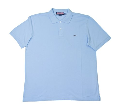 Vineyard Vines Classic Fit Pique Polo  Jake Blue  Medium