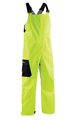 Grundéns Men's Weather Watch Fishing Bib Trousers, Hi Vis Yellow - Large