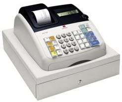 Olivetti ECR 7100 - Caja registradora (200 consultas, 9 dígitos), color blanco: Amazon.es: Oficina y papelería