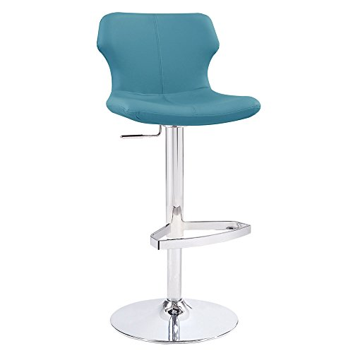 Modern Adjustable Leatherette Ellery Bar Stool with Chrome  : 31qs2BzTQhBL from www.kancyl.com size 500 x 500 jpeg 14kB