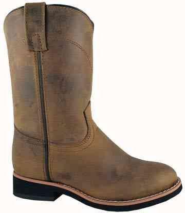 Smoky Fjell Jenter Struts Crepe Eneste Vestlige Støvler, Ungdoms 7