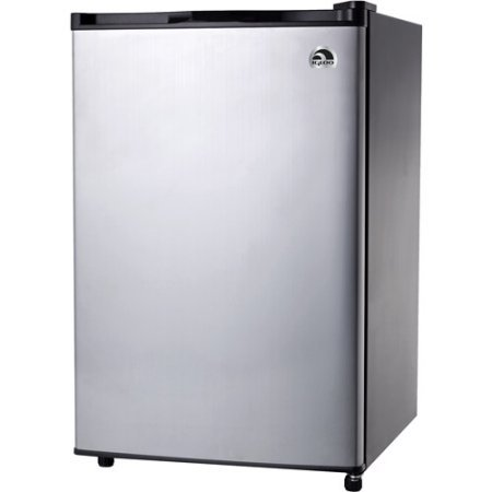 Igloo 4.6 cu. ft. Refrigerator and Freezer, Stainless Steel by Igloo