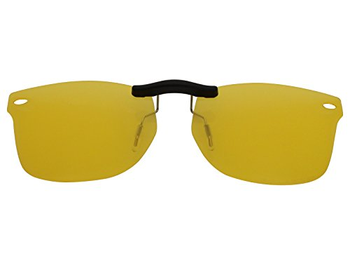 Custom Fit Polarized CLIP-ON Sunglasses For Ray-Ban RB5228 50X17 HD - Clip On Rb5228