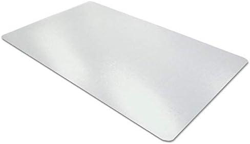 Transparente Schreibtischunterlage | Rutschfest | Runde Kanten | 90*40 cm| Schreibmatte | PVC Schreibtischmatte | Textured | Desk Pad Mat für Büro- und Computertisch