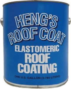 Heng's 16-47128-4 Roof Coating Elastomeric Gal, 128. Fluid_Ounces