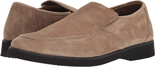 (Hush Puppies Men's Bracco MT Slip-On Taupe Suede 10.5 D US)
