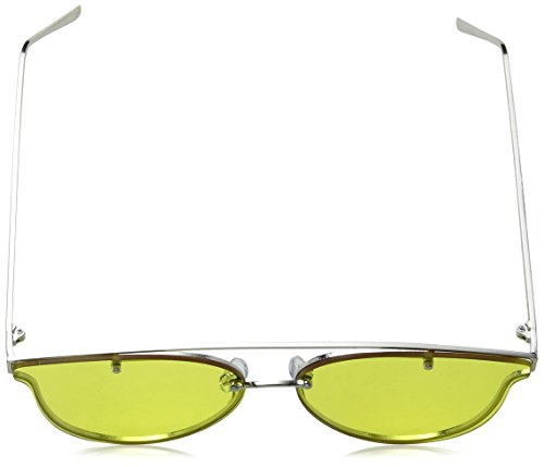 Plateado JPAW011 Gafas Peepers Jeepers de Sol Adulto Silver Yellow Unisex 50 RfwW0ZqW5