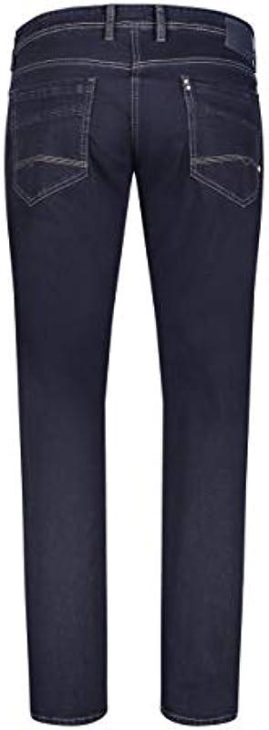 MAC Jeans Męskie Hose Regular Fit Ben blau-mittel: Odzież