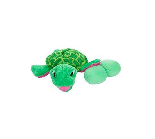Egg Babies Turtle (Outward Hound Kyjen 31005 Egg Babies Turtle Plush Dog Toys Squeak Toy Dog Puzzle, Large, Green by Outward)
