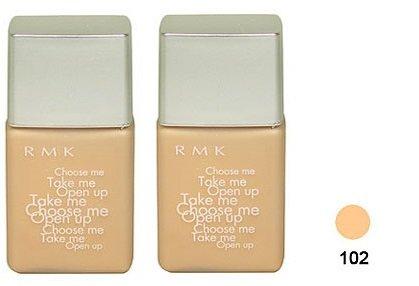 Rmk Liquid Foundation #102 15ml x 2 bottles (30ml) Travel Size