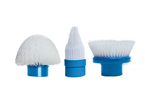Cleaning Brush Replacement Head (Hurricane Spin Scrubber Replacement Heads by BulbHead)