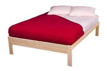 nomad solid hardwood platform bed frame twin size